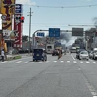 【火災】大阪府枚方市で火事発生!「枚方のリサイクル工場で火事起きてるで」