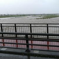 【氾濫危機】静岡県 安倍川で水位上昇!