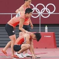【感動】東京五輪400mリレー 日本痛恨のバトンミス!「誰も悪くない!」失意の多田と山県に駆け寄った桐生選手が素晴らしいと話題!「なんか見てて悔しいなあって思ったし、桐生さんの涙みてもらい泣き😭」
