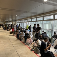 【長蛇の列】京急線 京急蒲田駅でさよならドレミファインバータ記念乗車券発売! 長蛇になる!「かなりの列が駅の外まで溢れてる 1250人らしい」