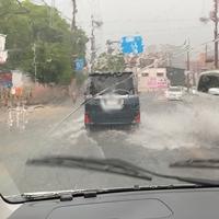 【ゲリラ豪雨】兵庫県加古川市周辺でゲリラ豪雨!各地で冠水、洪水発生!「えげつない事になってるな………加古川→陣内智則の実家地域」