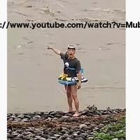 【動画】自称ユーチューバー  再生数稼ぎのため増水した安倍川で溺れたふり! 救助に30人以上を動員!「チャンネル登録者数が増えてくれた記念に…ってチャンネル登録者数 23人じゃねえか!」