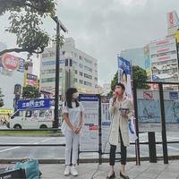 筆談ホステス斉藤りえ氏 応援演説に蓮舫を呼んでしまい野次の嵐にさらされてしまうw