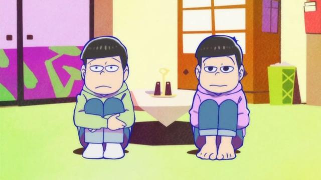 サイバー松、桜餅松 \u003d チョロ松  トド松