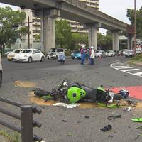【死亡事故】広島市東区 東区牛田本町 国道54号で車とバイクが衝突 バイクの男性(21)が死亡!