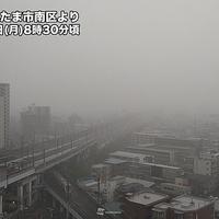 【大雨】関東地方 朝から土砂降り!午後にかけて雨の降りやすい天気続く!「雨やばかった…すっごい土砂降りだし雷鳴るし…」