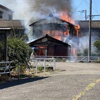 【火災】JR南武線 矢向駅付近で火事発生!「銀行の帰り、ちょうど火事で大渋滞。。 人がいないといいんだけど。。」