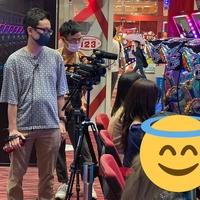 【ブチギレ】NMB48 パチンコ番組の収録で「123難波店」を訪問、開店前に出る台を確保!抽選一番を引いた一般客がブチギレ!
