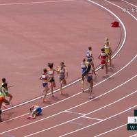 【動画】驚愕!東京五輪 陸上1500m 世界選手権女王ハッサン選手 残り1周で転倒→11人ゴボウ抜きで余裕の1着!「せいけんづきしてきそうな名前だ」