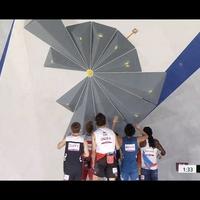 【悲報】東京五輪 ボルダリング 第3課題が旭日旗に似ていると韓国ブチギレか!「予言クライミング第三課題が旭日旗に見えるって騒ぎだす」