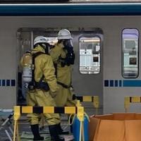 【テロ?】東西線飯田橋駅で車両に油まかれる事案発生! 中野駅に化学機動中隊が出動!「中野続報 人身事故レベルまたはそれ以上に消防いる」