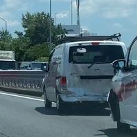 【事故】中央道 国立府中IC~調布IC付近で事故発生!「どー見てもこのVOXY、オリンピック車両だよな(笑)」
