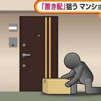 【リアルパラサイト】置き配を盗んで生活していた無職を逮捕!マンションの階段部分に住み着き、無断で電気を引き込み使用!